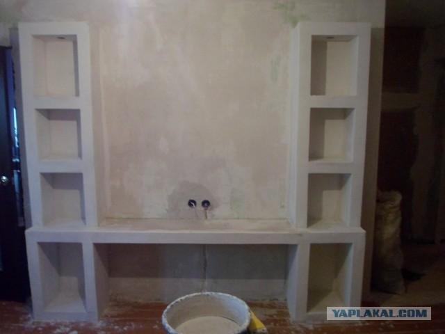 Как сделать стенку своими руками видео - HubertHaas