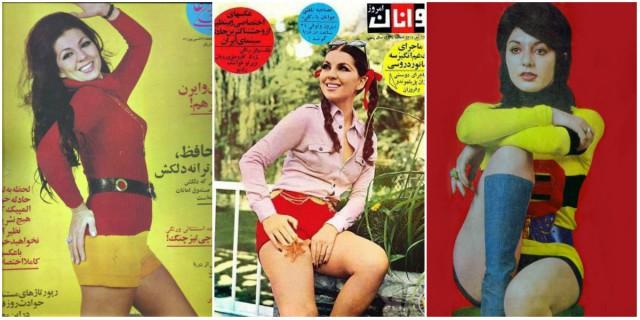 Иранские женщины 60-70х до Исламской революции