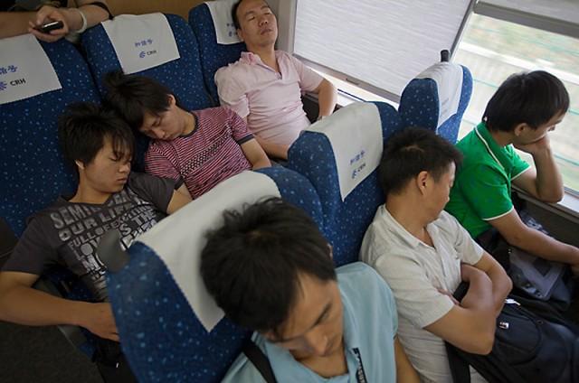 Китайские скоростные ж/д линии