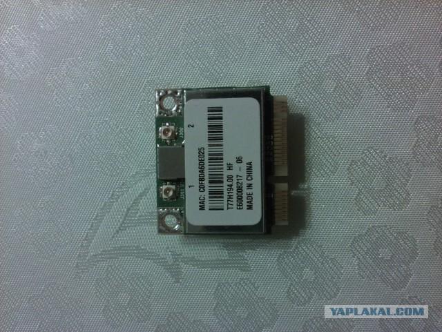 Продам для ноута модуль WIFI MINI PCI-E