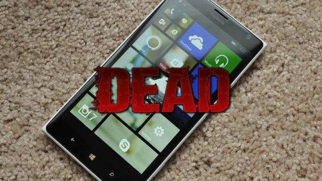 Windows Mobile мертва. Теперь официально