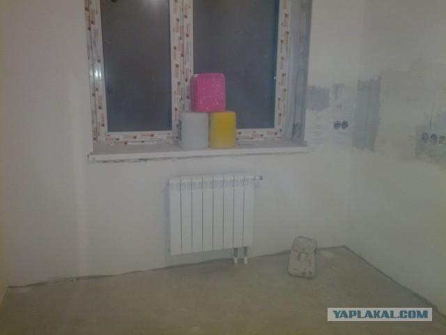 Ремонт двухкомнатной квартиры своими силами.