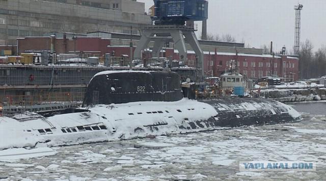 Атомные подводные силы: небоевые потери