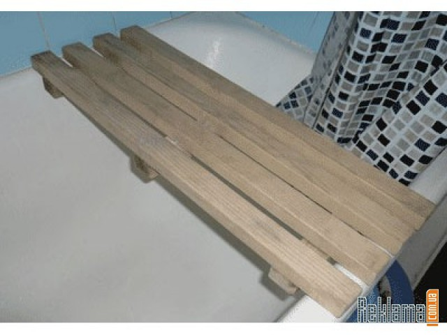 Деревянная решетка в ванную своими руками