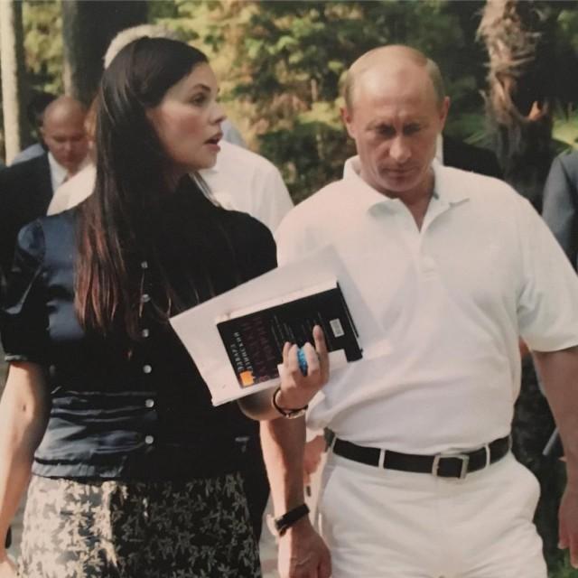 Екатерина Андреева в Instagram