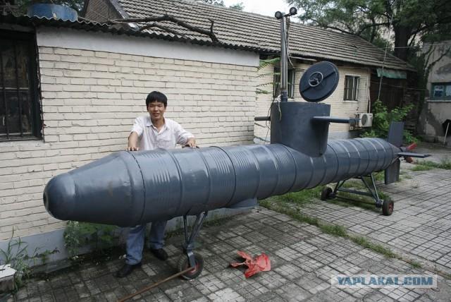 Подводная лодка своими рук