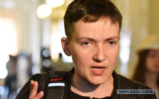 Надежда Савченко прилетела в Москву для поддержки националистов в суде