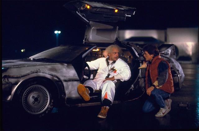 """Как изначально должна была выглядеть машина времени в фильме """"Назад в будущее"""""""