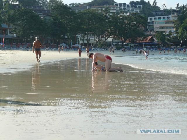 Из зимы в лето. Пхукет.Таиланд.