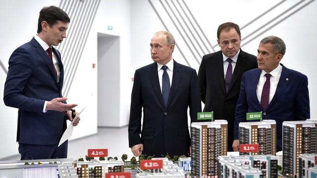 Путин предупредил об изменении цен на жилье после ликвидации долевого строительства