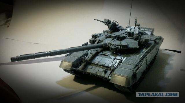 Танк Т-90 к Дню Победы