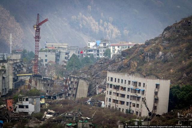 Как выглядит город после землетрясения