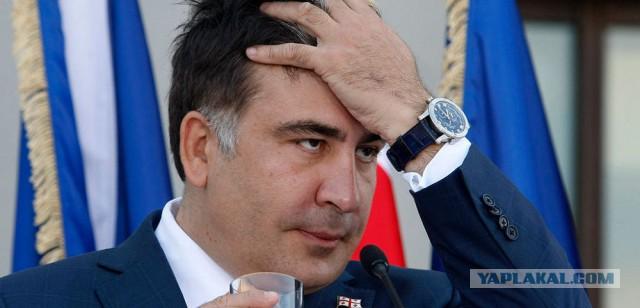 Саакашвили подал в отставку с поста губернатора