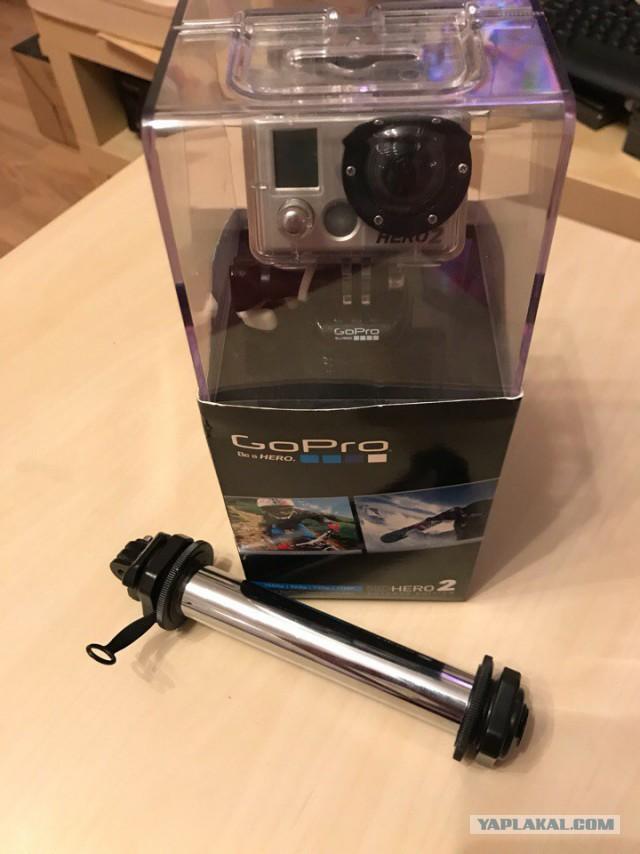 На продажу GoPro 2