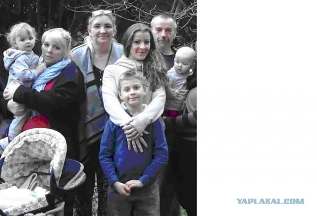 Немецкая многодетна семья просит политического убежища в России.