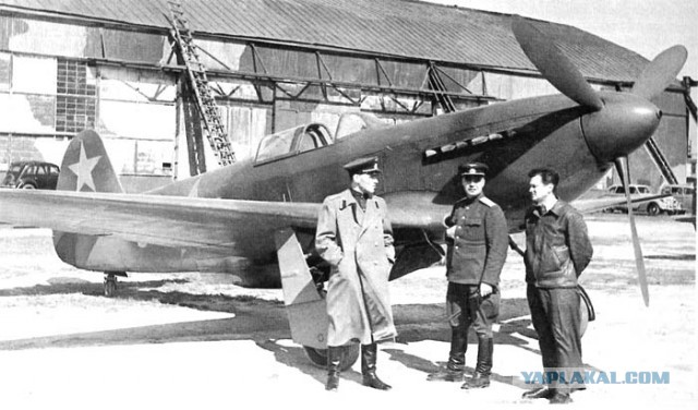 Як-3 - собираем с сыном модель
