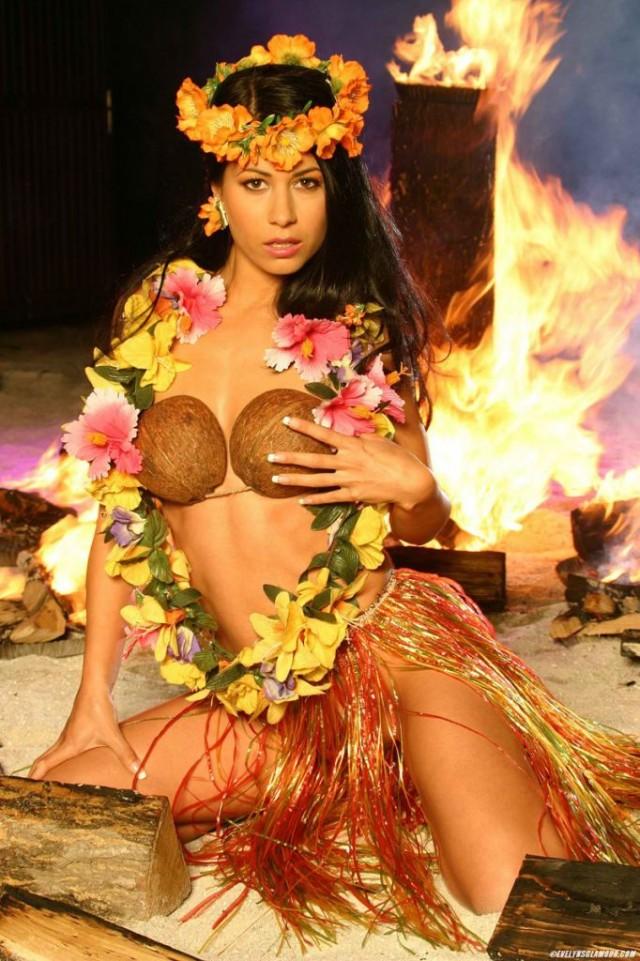 Гавайские праздники. Гавайская вечеринка. Гавайская магия. Гаваи ( кухня, танцы, мода ). - Страница 2 793111