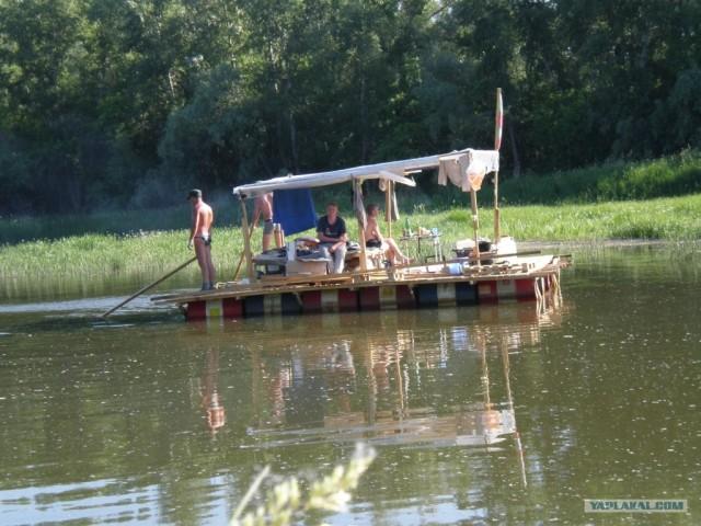 Сплав по реке (5 фото + комменты)