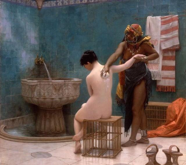 Как люди стали мыться, как перестали и снова начали