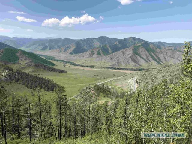 Путешествие на Алтай 2018