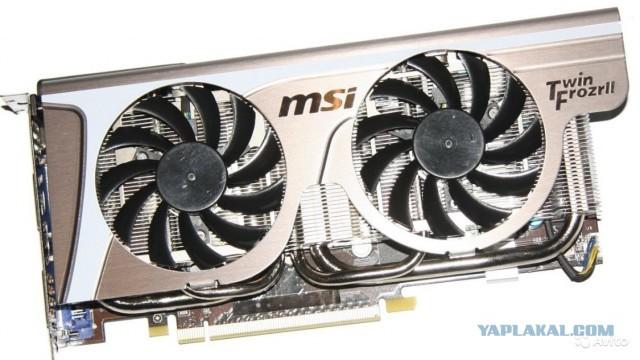 Продам видеокарту MSI Geforce 560, 1024 mb