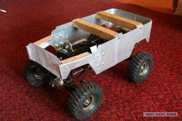 Как сделать кузов для радиоуправляемой машины