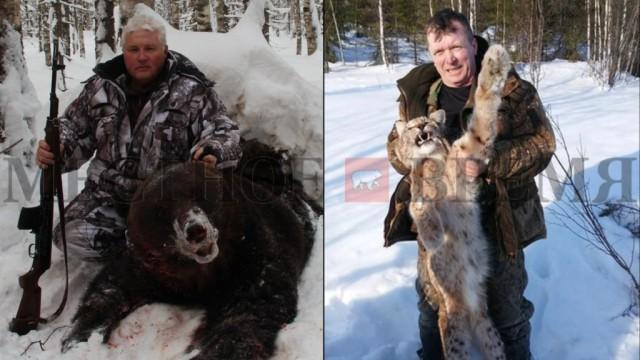 VIP-браконьеры: в Прикамье чиновники убили медведя и четырех рысей