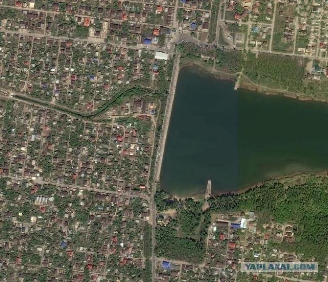 Плотина на Ростовском море треснула и может рухнуть