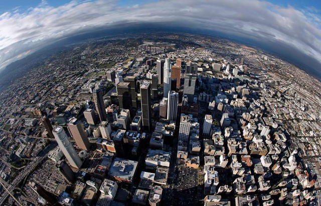 Полетаем над Лос-Анжелесом