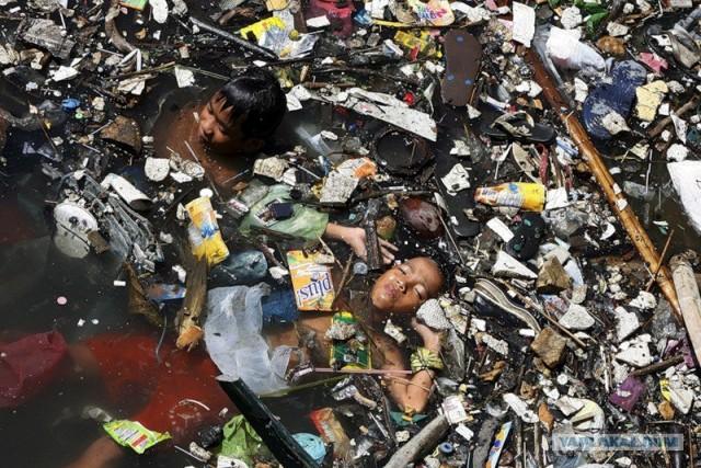 Пластиковая планета.