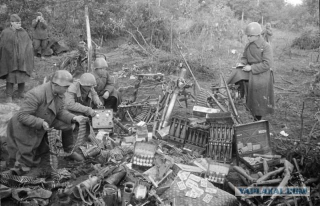Что делали с трофейным немецким оружием после войны
