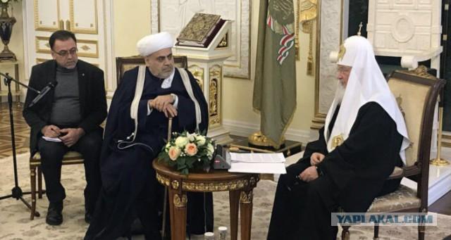 Поможет братушечкам! Патриарх Кирилл поможет построить в Москве мечеть специально для лиц азербайджанской национальности