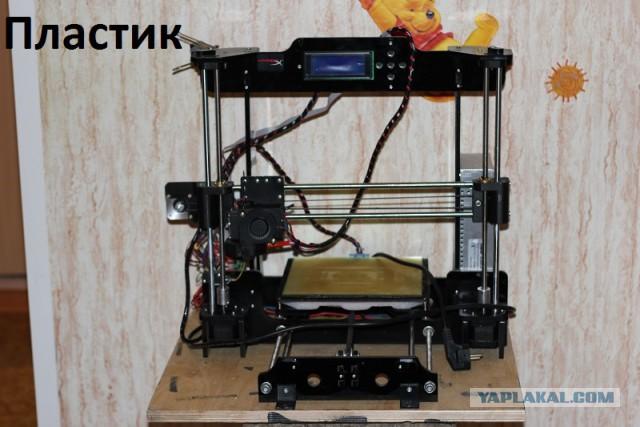 3D принтер, 2шт + расходники и запчасти