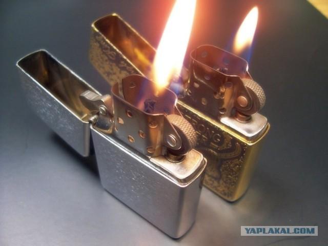 Для изготовления серийных зажигалок Zippo используется латунь,