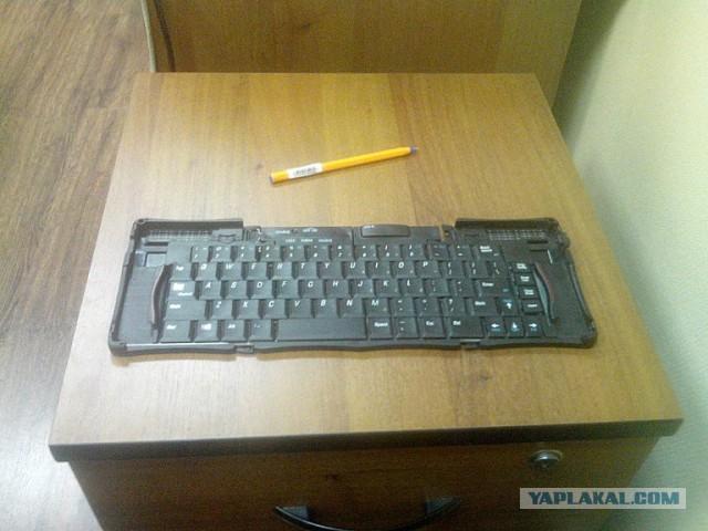 Шпионская беспроводная клавиатура