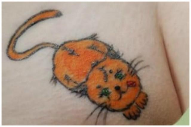 Лобковые татуировки