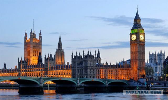 Британия конфискует особняки русских чиновников.