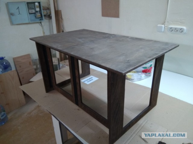 Походный стол из фанеры