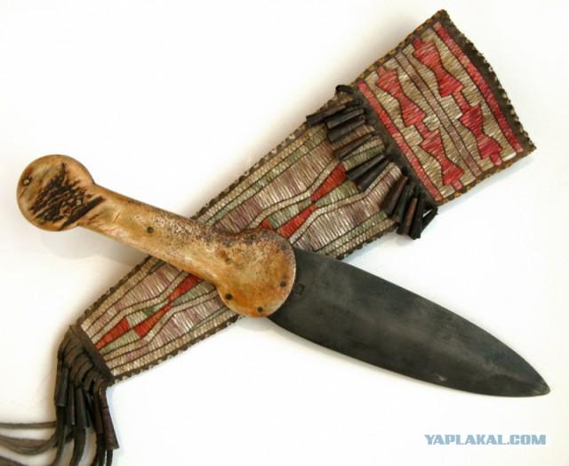 Ножны из хвоста бобра своими руками
