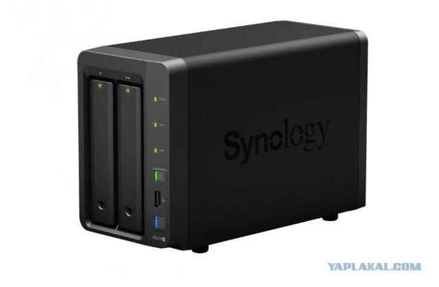Сетевой накопитель Synology DS-214+
