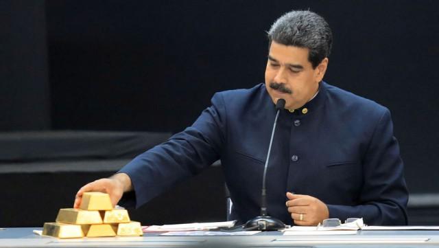 В Венесуэле потеряли золото