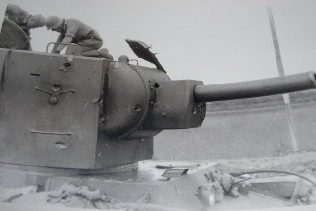 Командир танка КВ-2 №93. Последний бой 2 июля 1941
