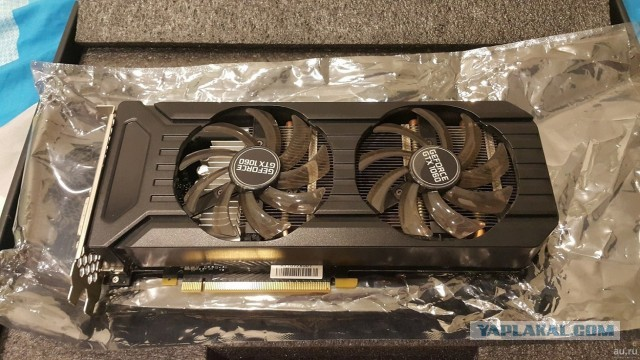 Видеокарта Palit GeForce GTX 1060 Dual 1506Mhz PCI-E 3.0 6144Mb 8000Mhz 192 bit DVI HDMI HDCP отл сост МСК\РФ Гарантия