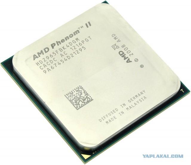 amd phenom ii x4 965 + SCYTHE Mugen 2 SCMG-2100, 120мм, Ret
