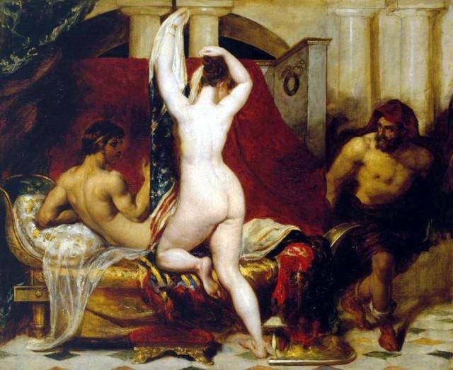 Эксгибиционизм, бордели и изнасилование: 8 откровенных классических полотен