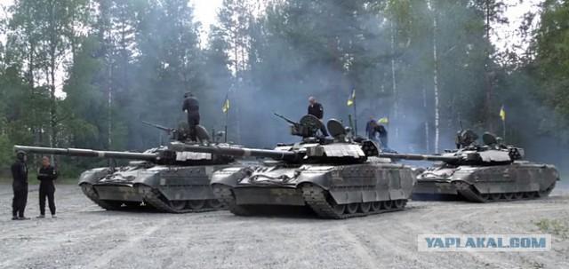 В первый день Tank Challenge все украинские танки сломались