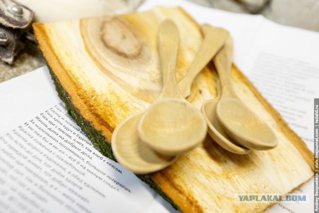 Как это сделано деревянные ложки