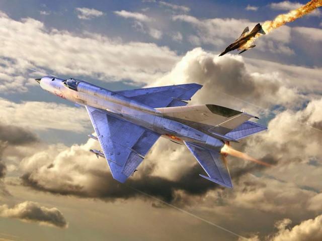 МиГ-21 против F-4 Phantom II. Битва за Вьетнам