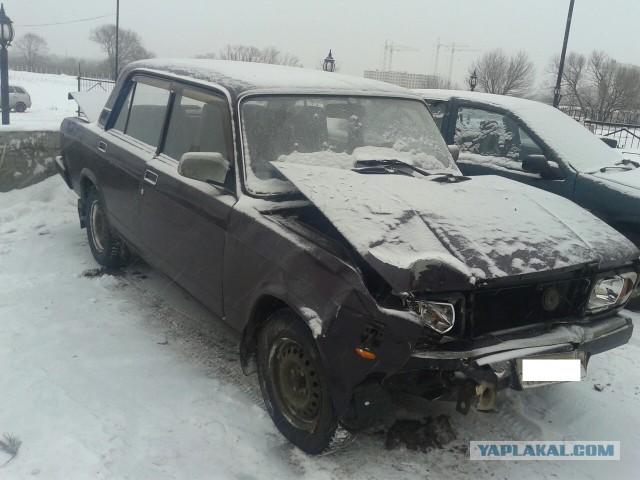 Продам ВАЗ 2107 2004 г. после ДТП