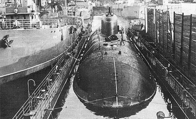 ядерная катастрофа на реакторе подводной лодки